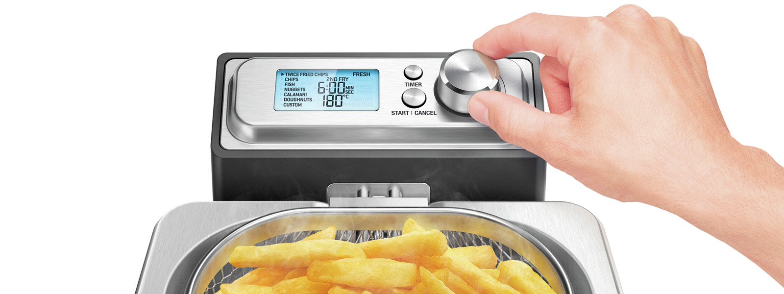 the Smart Fryer - Sage™ by Heston Blumenthal® - baggrundsbillede
