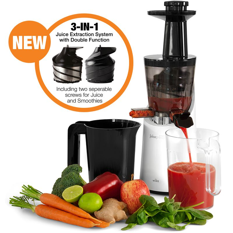 Witt Smoothie Juicepresso SE - Witt Slow Juicere
