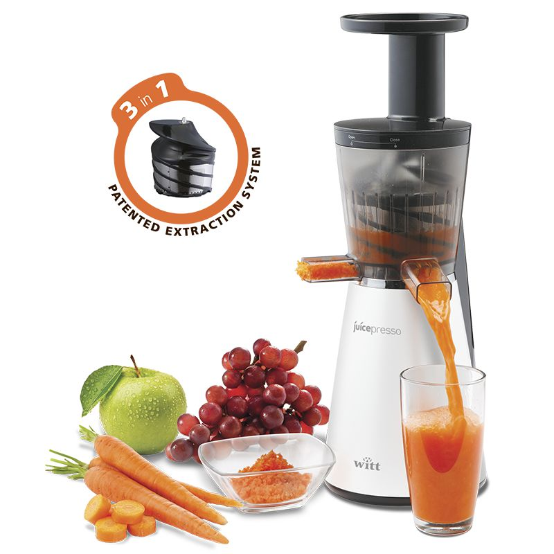 Witt Juicepresso Slow Juicer Test : Juicepresso Slow Juicer Witt