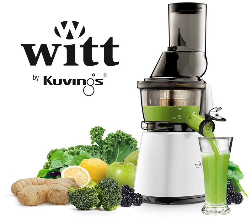 Slowjuicer Witt Udsalg : Witt by Kuvings C9600 - Witt Slow Juicere