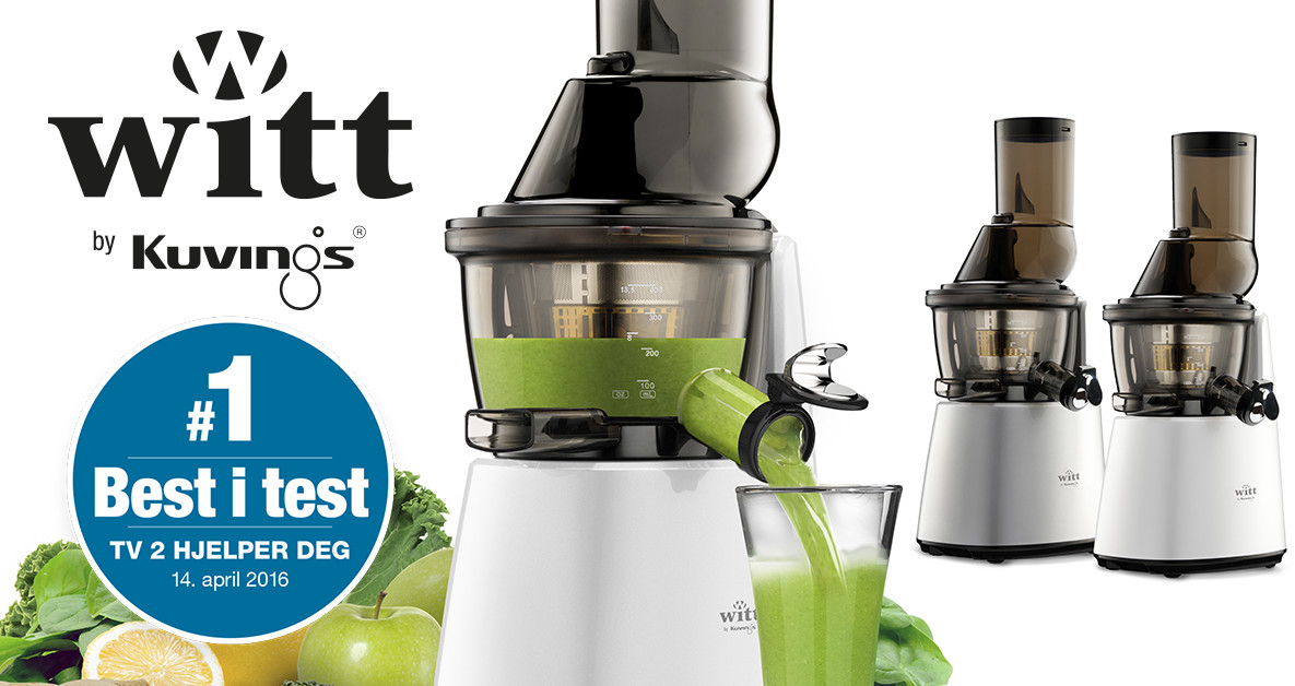 Witt Juicepresso Slow Juicer Test : Witt by Kuvings C9600 Slow Juicer witt.zone